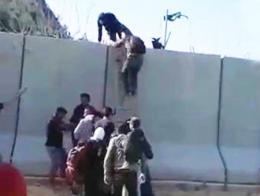 Hatay sirios muro frontera