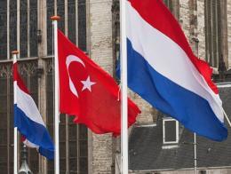 Holanda turquia banderas