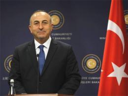 El ministro de exteriores turco, Mevlüt Çavuşoğlu