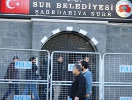 Diyarbakir policia ayuntamiento sur