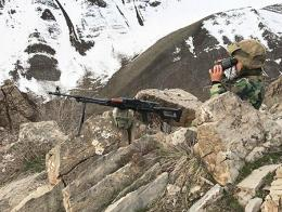 Igdir soldado turco frontera