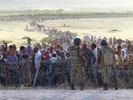 Kilis frontera siria refugiados