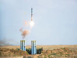Misil ruso s400 lanzamiento