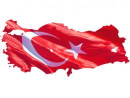 Turquia mapa pais bandera anatolia