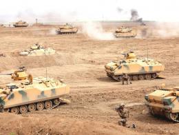Maniobras de comandos de las Fuerzas Armadas Turcas
