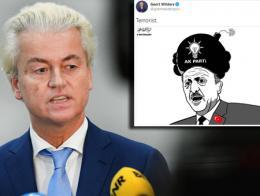 Holanda wilders caricatura erdogan