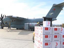 Turquia avion ayuda coronavirus