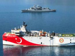 Turquia buque exploracion mediterraneo