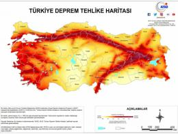 Turquia mapa riesgo terremotos