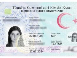 Turquia nuevo dni turco