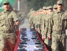 Turquia reclutas soldados ejercito