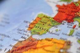 Espana mapa turco