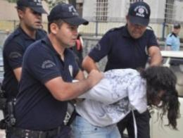Policia turca detencion