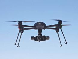 Dron multicoptero