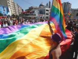 Imagen de archivo del desfile del Orgullo Gay en Taksim en 2014