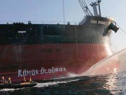 Greenpeace protesta turquia