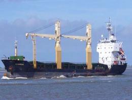 Barco carguero turco