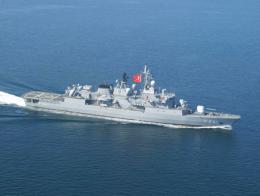 Marina turca fragata turgutreis