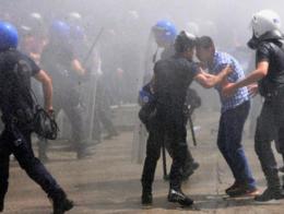 Policia turca antidisturbios