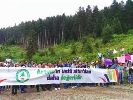 Artvin protestas ecologistas