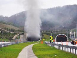 Bolu incendio tunel