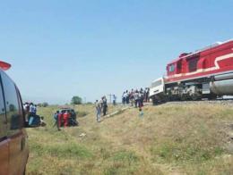 Elazig colision tren