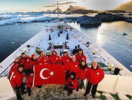 Antartida expedicion cientifica turca