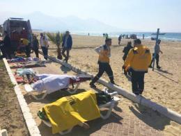 Aydin refugiados ahogados egeo