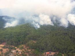 Balikesir incendios forestales