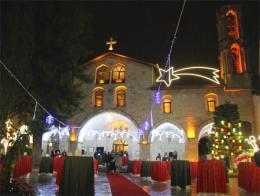Hatay antakya iglesia navidad