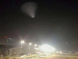 Ovni ufo cielo turquia