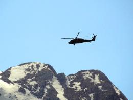 Tunceli helicoptero sikorsky