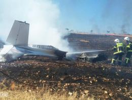 Adiyaman accidente avion cessna