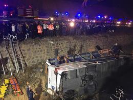 Afyonkarahisar accidente autobus rescate