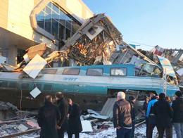 Ankara accidente estacion tren