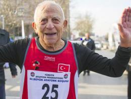 Ankara erdogan dulda atleta corredor