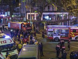 Ankara explosion gas