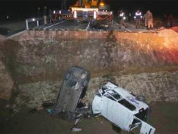 Bayburt accidente mortal obras