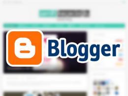 Blogger blog web