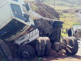 Erzurum accidente camion inmigrantes