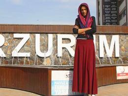 Erzurum chica alta hogar