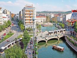 La ciudad turca de Eskişehir es una de las que tiene el aire menos contaminado
