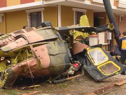 Estambul accidente helicoptero militar