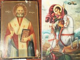 Estambul iconos cristianos confiscados