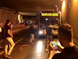 Estambul protesta transporte metrobus