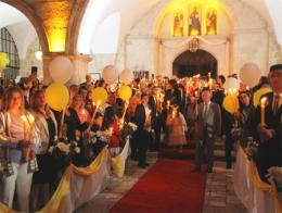 Hatay misa cristiana pascua