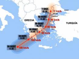 Huracan medicane grecia turquia