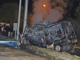 Igdir accidente minibus inmigrantes