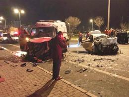 Kayseri accidente trafico