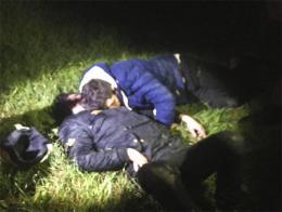 Manisa presos fugados durmiendo